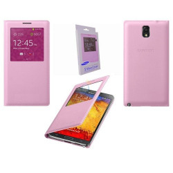 Capa Flip Cover S-View Samsung Flip Cover Galaxy Core Prime G360 Rosa