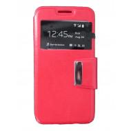 Flip Cover Janela Para Samsung Galaxy S6 / G920 Red
