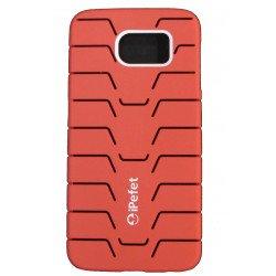 Ipefet Capa Tarseira Para Samsung Galaxy S6 / G920 Vermelho Compativel