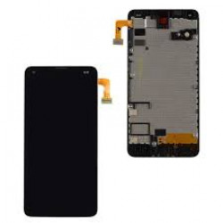 Touch+Lcd With Frame Microsoft Nokia Lumia 550 Black