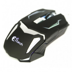 Rato Para Gaming Z8tech M1628 Preto 6d Gaming Mouse, 6 Button, Multipal Colours E 3200 Dpi
