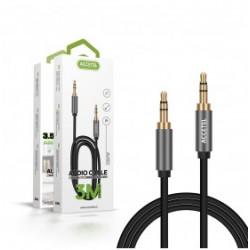 Lightning To Headphone Jack ALCATEL AU109 3.5 Aux Audio Black