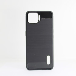 Carbon Cover Oppo A73 2020 Black