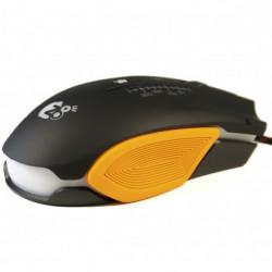 Rato Para Gaming Z8tech M1610 Preto Ergonomic Design E Advance Game Optics Sensors