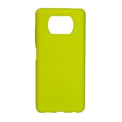 Capa Silicone Gel Xiaomi Poco X3 Amarelo