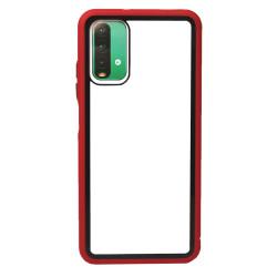 Capa Silicone Dura Xiaomi Poco M3 Vermelho Bumper