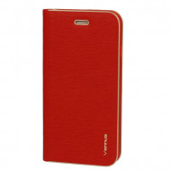 Flip Cover Vennus Book Case With Frame Para Huawei Y5p Red