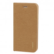 Flip Cover Vennus Book Case With Frame Para Huawei Y5p Gold