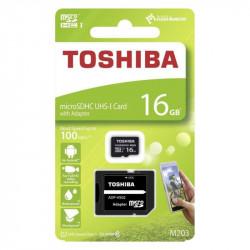 Cartão De Mémoria Toshiba 16gb Class 10 Com Adaptador