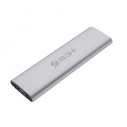 Pendrive S3+ 500gb Portable Usb 3.2 Type-c Prateado