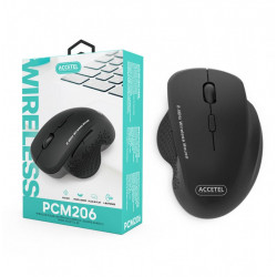 Mouse WIRELESS ACCETEL PCM206 BLACK