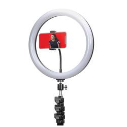 Ring Light Oem Dx-200 Preto Com Tripod Stand, 8