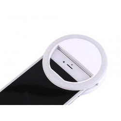 Ring Light New Science L04 Branco Selfie Ring Light, Protect Phone