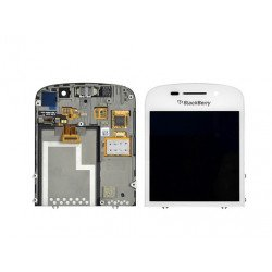 Touch+Lcd Blackberry Q10 White