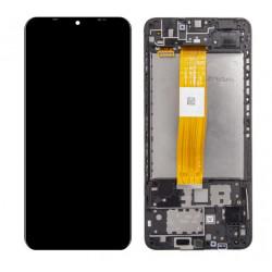 Touch+Display Com Frame Samsung Galaxy A72 4g / 5g 2021 A725 / A726 (Original) Preto Com Battery