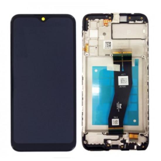 Touch+Display Com Frame Samsung Galaxy A02s 2020 / A025f Preto