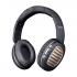 Auscultador Skyblue Ct978 Castanho 200mah Adjustable Design, Telephone Call,Wireless Wired Mode