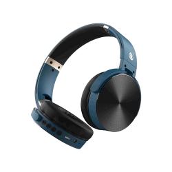 Auscultador Wireless One Plus C5996 Azul Bts Handfree , Adjustable Design E Aux Cable Input, Fm Radio