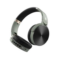 Auscultador Wireless One Plus C5996 Verde Bts Handfree , Adjustable Design E Aux Cable Input, Fm Radio