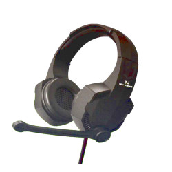 New Science Headphones G006 Pro Preto 7.1 Surround Sound, Hd Microphone