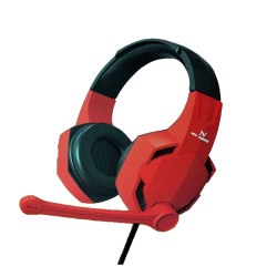 New Science Headphones G012 Pro Red 7.1 Surround Sound, Hd Microphone