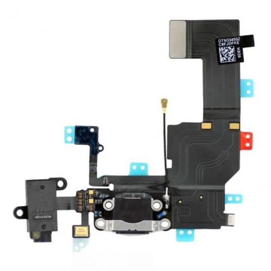 Charging Flex Apple Iphone 5c Black