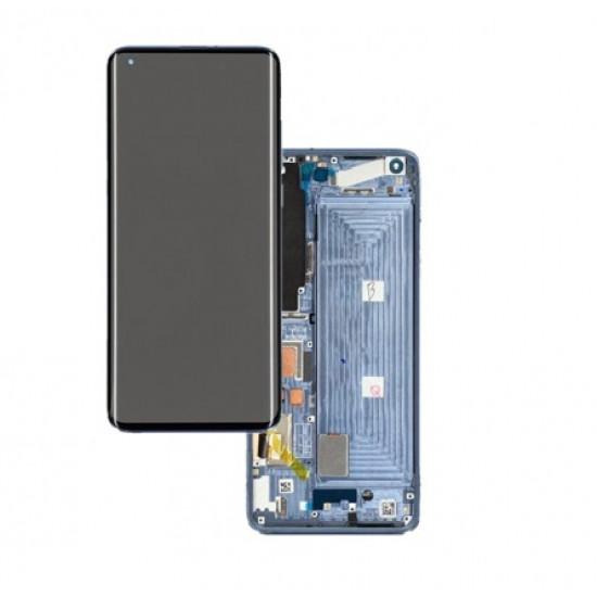 Touch+Display Com Frame Xiaomi Mi 11 Lite 2021 Azul