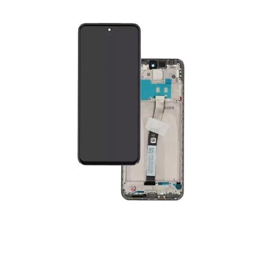 Touch+Display Com Frame Xiaomi Redmi Note 10 2021 Preto