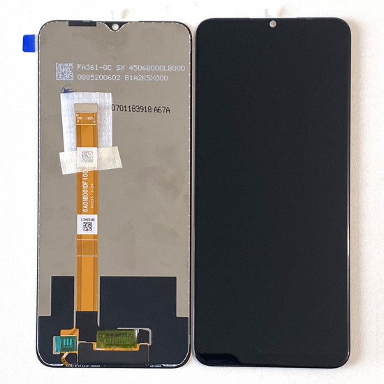 Touch+Display Oppo A15 Preto