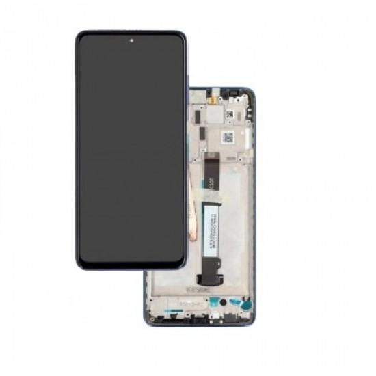 Touch+Display Com Frame Xiaomi Poco X3 Pro 2021 Dourado