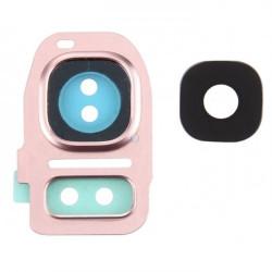 Back Camera Lens Samsung S7 Edge G935 Pink