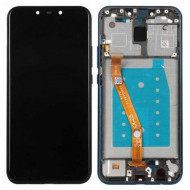 Touch+Display Com Frame Huawei Mate 20 Lite Azul