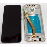 Touch+Display Com Frame Huawei Mate 20 Lite Dourado