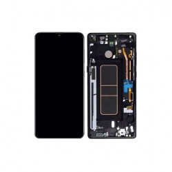 Touch+Display Com Frame SAMSUNG GALAXY A71 2020 A715 Black