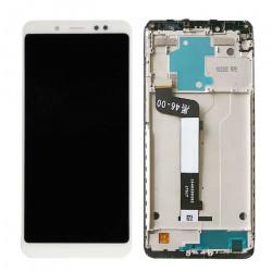 Touch+Lcd Xiaomi Redmi 5 Plus Version China Redmi Note 5 Versão Global (Com Frame) White