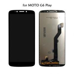 Touch+Display Com Frame Motorola Moto G6 Play Xt1922 Black