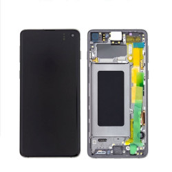 Touch+Display Com Frame SAMSUNG GALAXY S10 2019 G973 Black