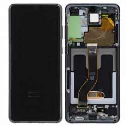 Touch+Display With Frame SAMSUNG GALAXY S20 PLUS Black