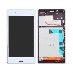 Touch+display Com Frame Sony Z3 White