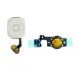 Home Button Flex Apple Iphone 5 White