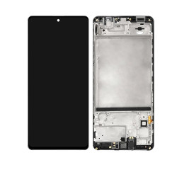 Touch+Display With Frame SAMSUNG GALAXY M51 2020 M515 Black