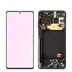 Touch+Display With Frame SAMSUNG GALAXY NOTE 10 LITE 2020 N770 Black