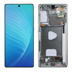 Touch+Display With Frame SAMSUNG GALAXY NOTE 20 2020 N980 N981 Blue
