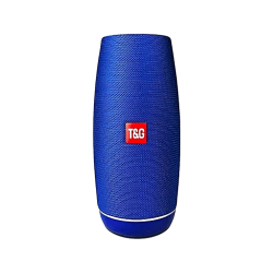 Coluna Bluetooth T&Amp;G Tg108 Portable Sem Fio Azul