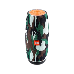 Speaker Tg108 Portable Wireless With Bluetooth Camouflage