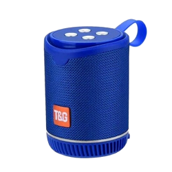 Speaker Tg-528 Portable Wireless With Bluetooth Blue