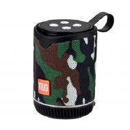 Coluna Tg-528 Portable Sem Fio Com Bluetooth Camuflar