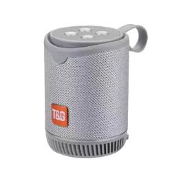 Coluna Tg-528 Portable Sem Fio Com Bluetooth Cinza
