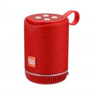 Coluna Tg-528 Portable Sem Fio Com Bluetooth Vermelho