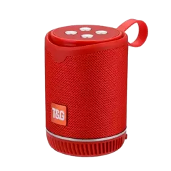 Speaker Tg-528 Portable Wireless With Bluetooth Red